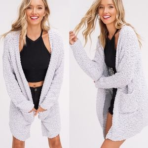 SKYLAR Softest Breathable Cardigan - GREY